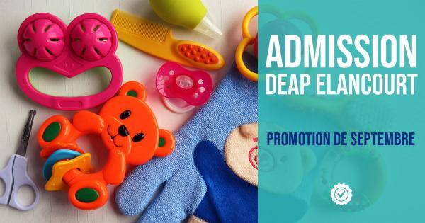 Promotion DEAP admission Elancourt