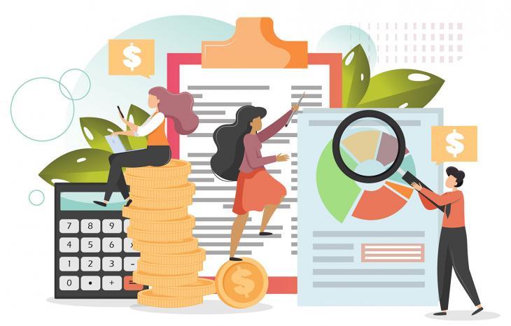 Illustration représentant les financements dans le cadre de la formation