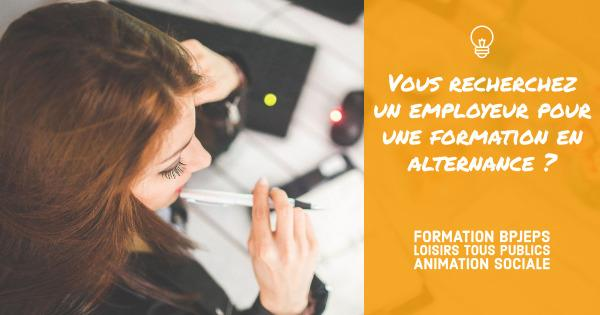 Recherche employeur formation alternance